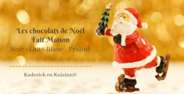 Calendrier jour 18 - Calendrier de l'avent : chocolats de Noël fait maison