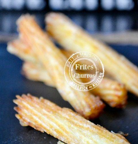 Image à la une - Frites striées façon churros