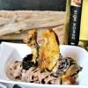 Image a la une Pintade vin jaune champignons