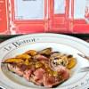 Plancha de tournedos bœuf sauce pêche de vigne image a la une