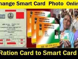 Add-Change-photo-Smart Card -Ration Card