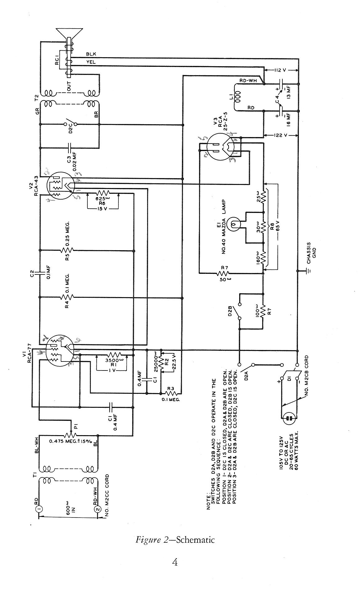 Western Electric 2500 Wiring Diagram : 36 Wiring Diagram