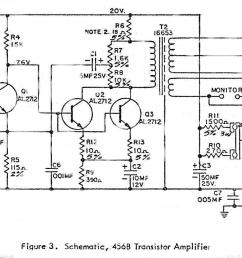 altec 456b transistor amplifier schematic and  [ 1525 x 716 Pixel ]