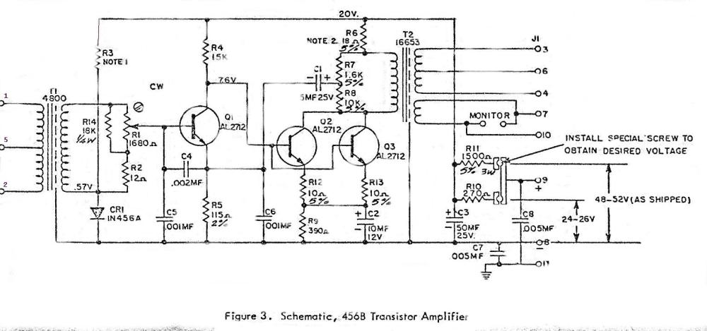 medium resolution of altec 456b transistor amplifier schematic and