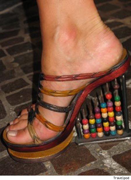 footwear designs 26 Strange Footwear designs