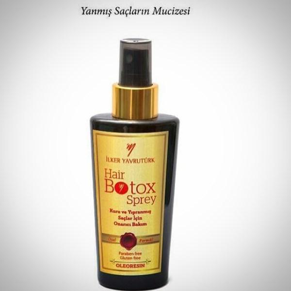 İlker Yavrutürk Hair Botox Sprey