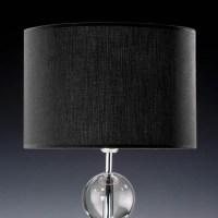 Lampenschirm schwarz rund 25 x 15 cm Online Shop direkt ...
