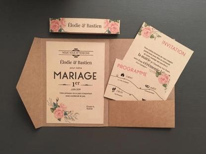 faire part de mariage kadolog