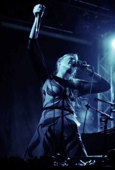 Kadri Voorand in Duo with Mihkel Mälgand at Tampere Jazz Happening. Photo: Maarit Kytöharju
