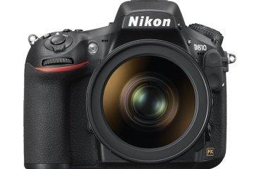 Nikon D810 widok z przodu