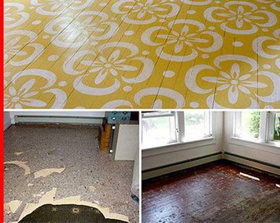 Stenciled-Timber-Flooring,