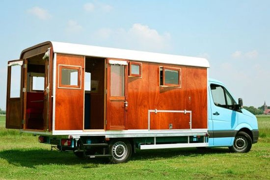 Movable Architecture | Home on wheels