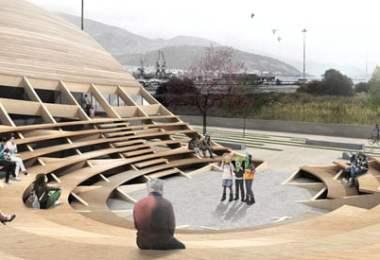 Argo Museum Volos Greek, outdoor-amphitheatre,