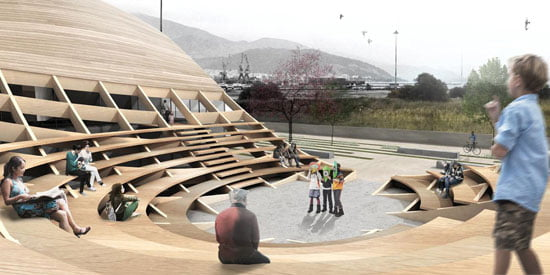 Argo Museum Volos Greek, outdoor-amphitheatre,
