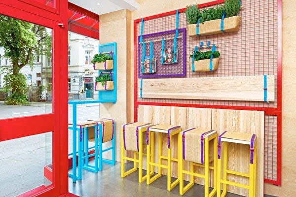 mediterranean food, Restaurant Interior,