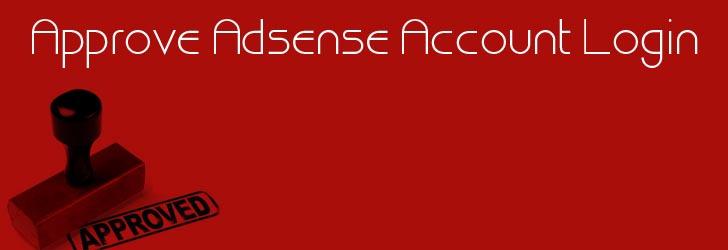 approve adsense account,