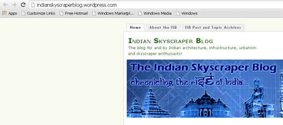 indian-sky-scarper-blog, Indian Architecture and Design Bloggers
