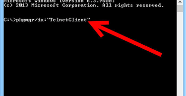 install telnet client windows