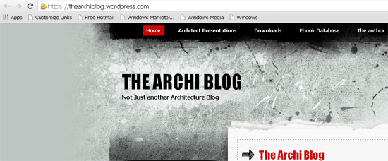 the-archi-blog, Indian Architecture and Design Bloggers