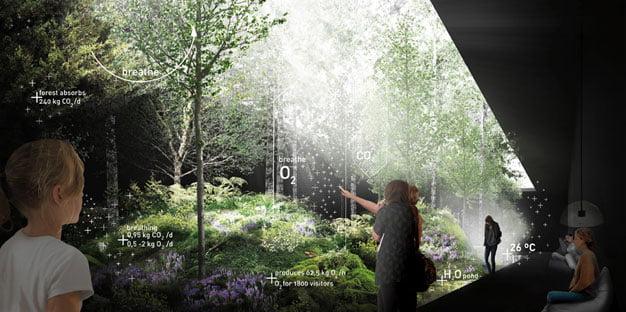 austria pavilion milan expo, environmental sustainability,