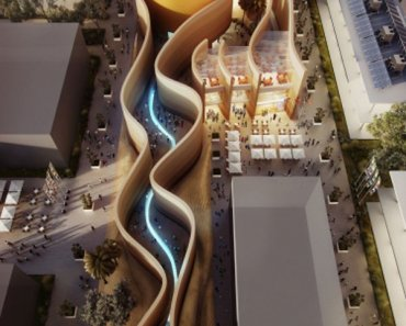 temporary architecture in milan expo, uae pavilion milan expo 2015,