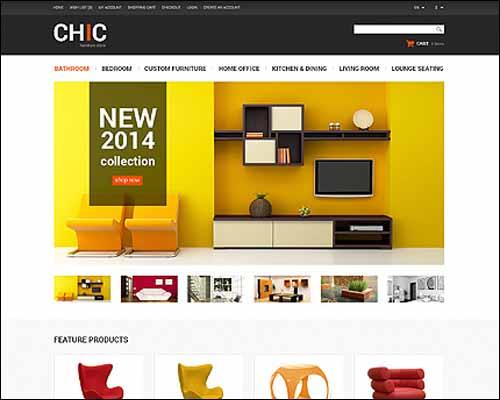 Furniture Store OpenCart Template