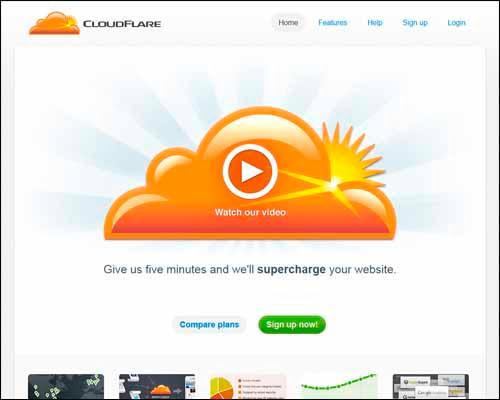 CloudFlare_CDN_Service