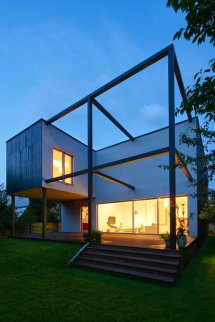 Cube House Project Architecture Concept Modern Family