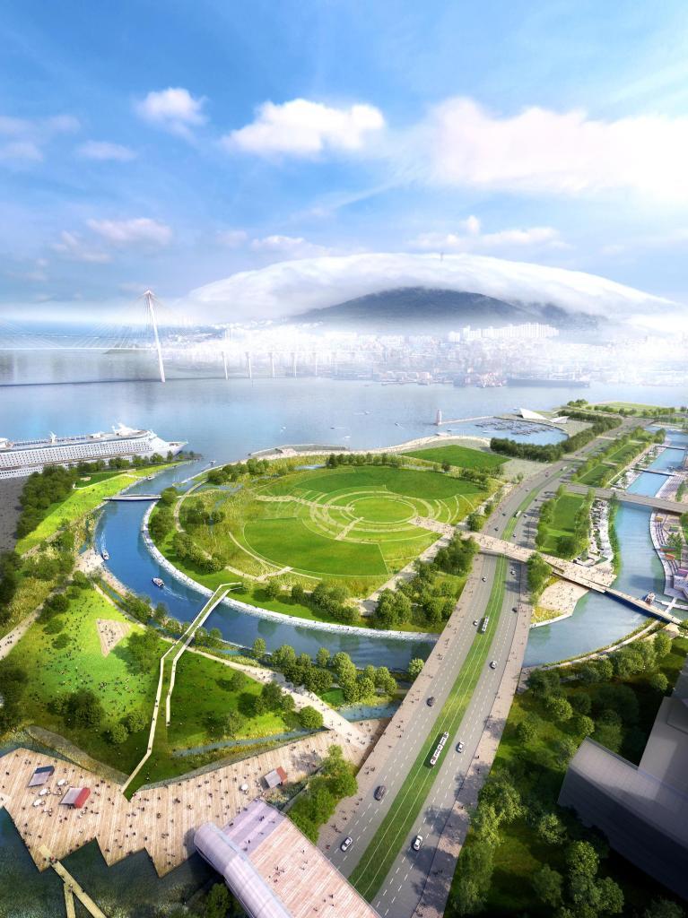 waterfront park development,