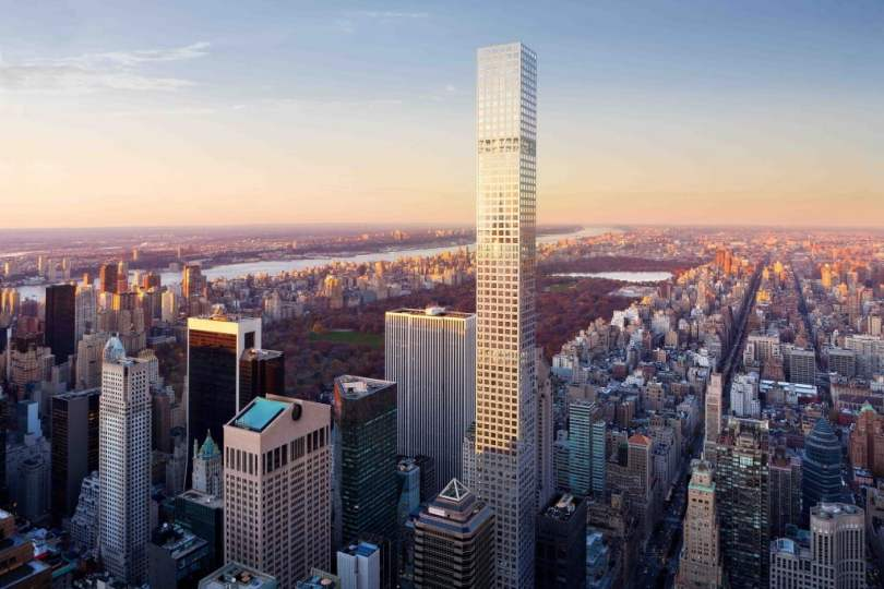432 Park Avenue in New York City-2, Tallest Building, tallest building in the world, tallest building in the world under construction, tallest building in the india, future tallest building in the world, tallest building in world under construction, upcoming tallest building in the world, thinnest building in the world,