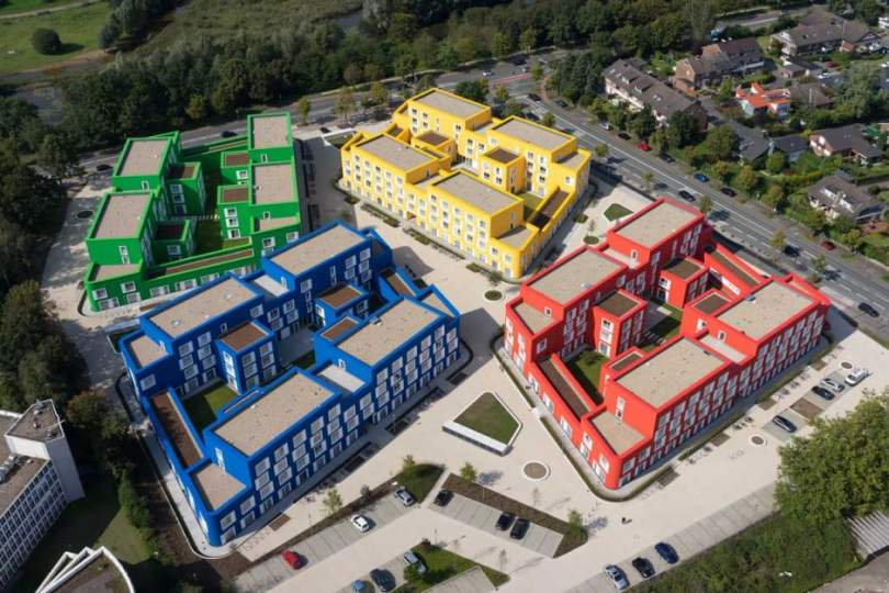 Bold and Beautiful Designs of Council and Student Housing in Munster, Germany by Kresings GmbH-13