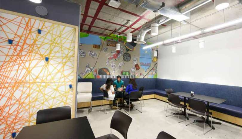 Facebook Mumbai Office Interior Design Photos and Detail (11)