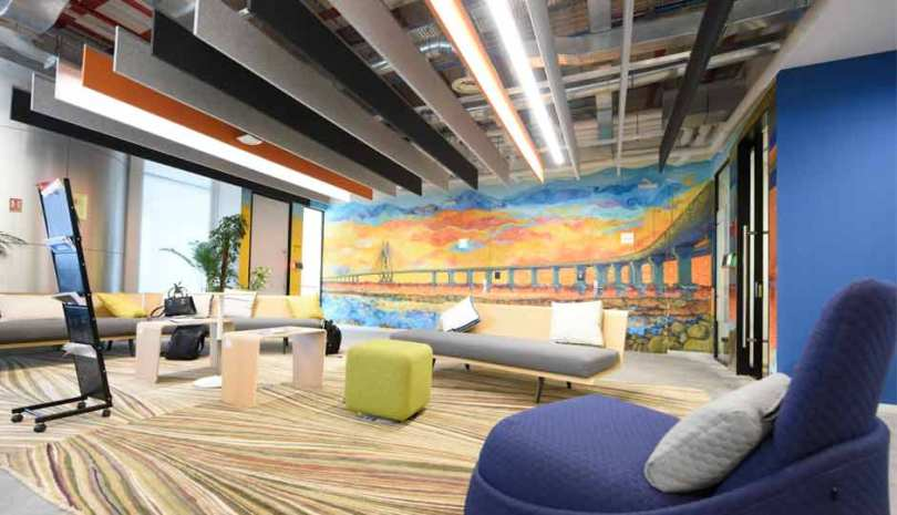 Facebook Mumbai Office Interior Design Photos and Detail (8)