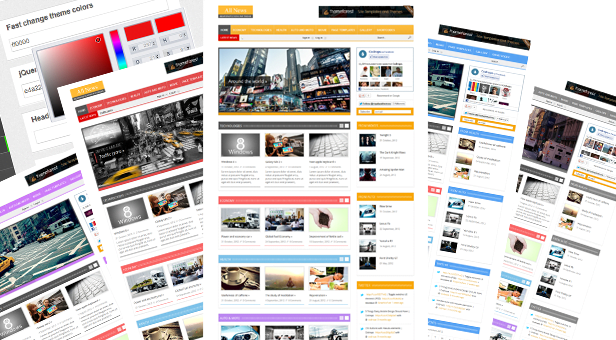 Responsive-WordPress-Theme, Platform,