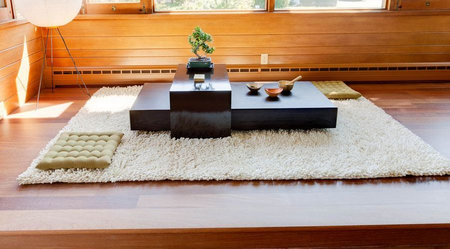 room decoration ideas, japanese style dining table,