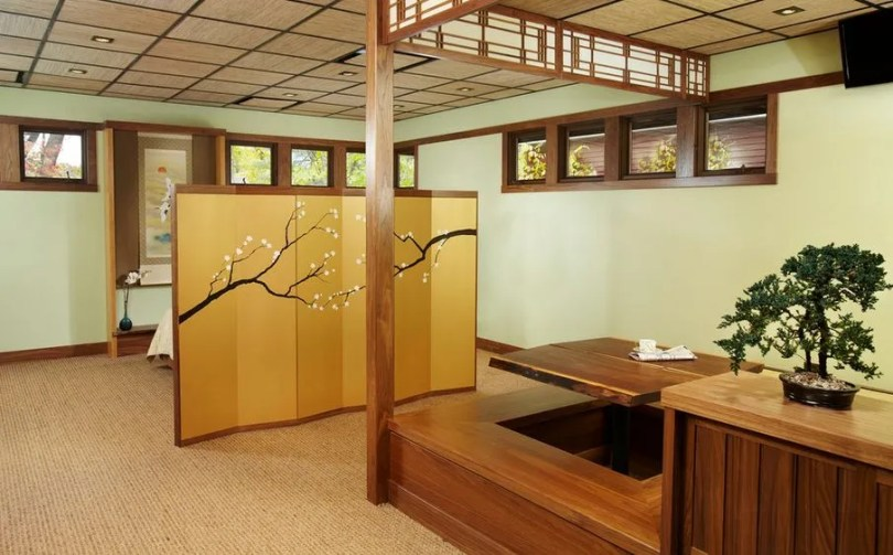 japanese style dining table,