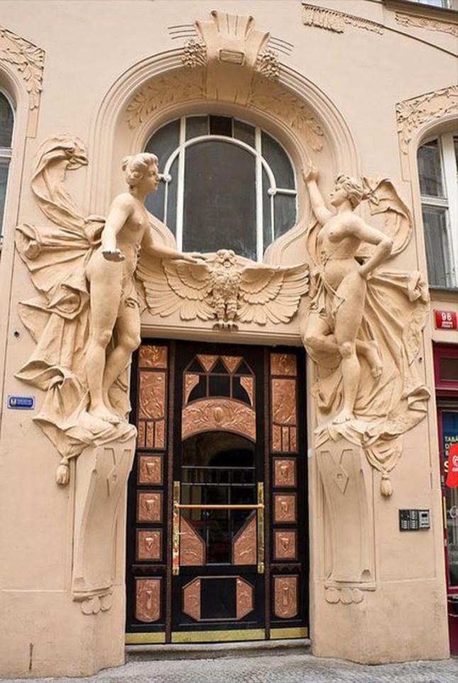 Art Nouveau Graphic Design Characteristics