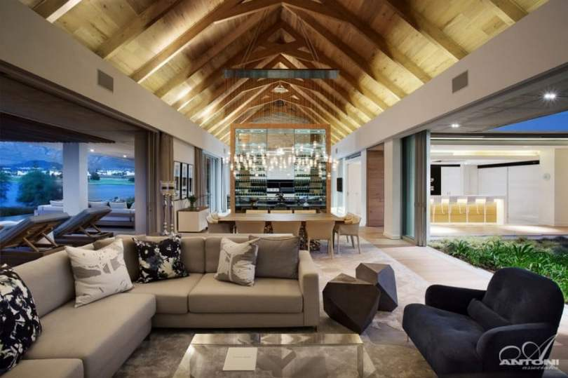 Modern Farmhouse Residence Design Inspired With a Glamorous Architecture (8)