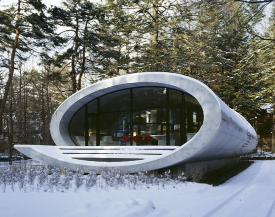 Shell house, ARTechnic architects,