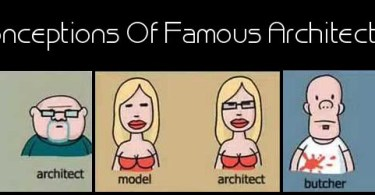 Misconceptions Of Famous Architects Job,