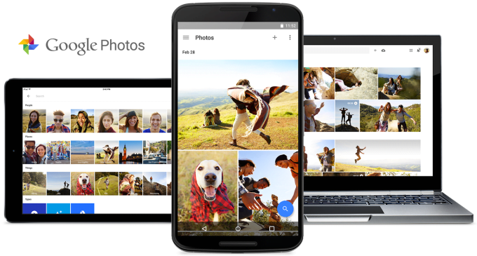Google Photos Cloud Storage,