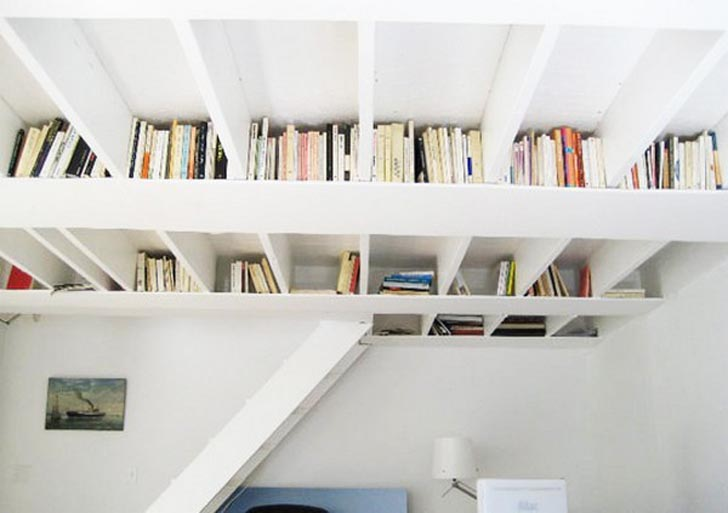 creative bookshelves design ideas,