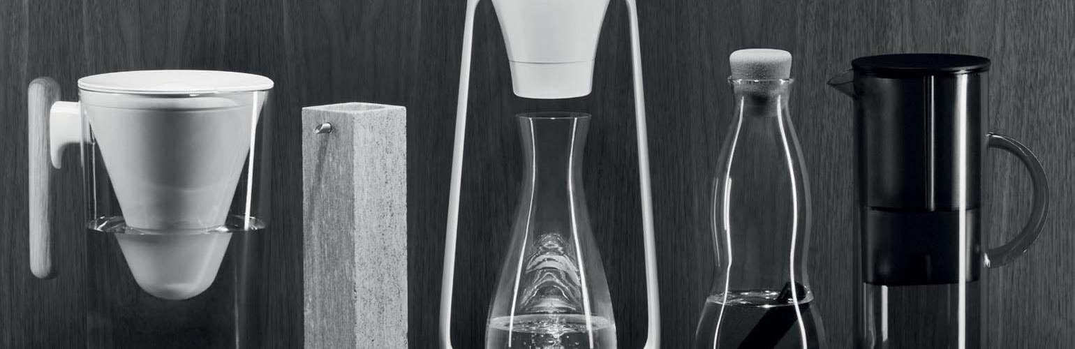 stylish and sustainable water filter,