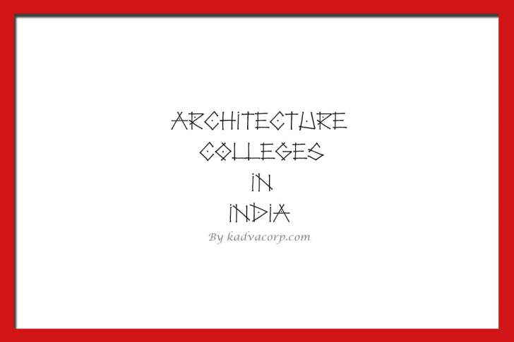 architecture colleges in andhra pradesh,