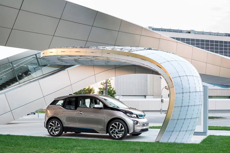 EIGHT installs solar powered fast-charging station at BMW welt 2