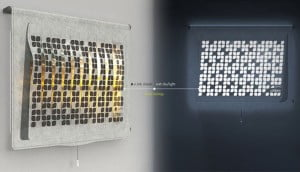 Eco.Leaf Solar Curtain Light Incorporates Green Technology Into Everyday Home Product 1