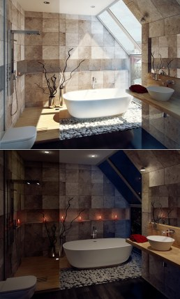 cool bathrooms vanities with modern bath tubs collection 8