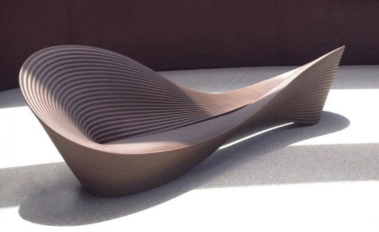 MAGIS-folly-bench-ron-arad-magis-outdoor seating ideas (Courtesy Magis Design)