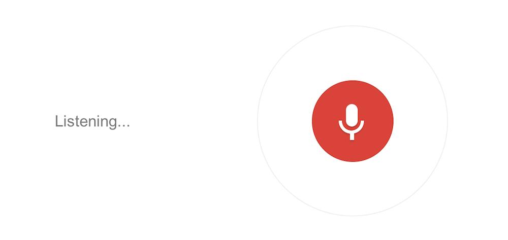 google voice search,