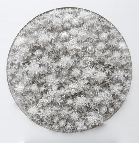 Laser Cut Paper Art Nature Inspired Magic Circle By Artist Rogan Brown (3)